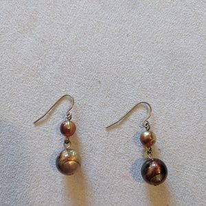 Jewelry - 🌸 3 for $7 🌸 gold bead earrings